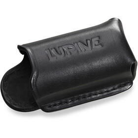 Lupine Leather Holster Open black